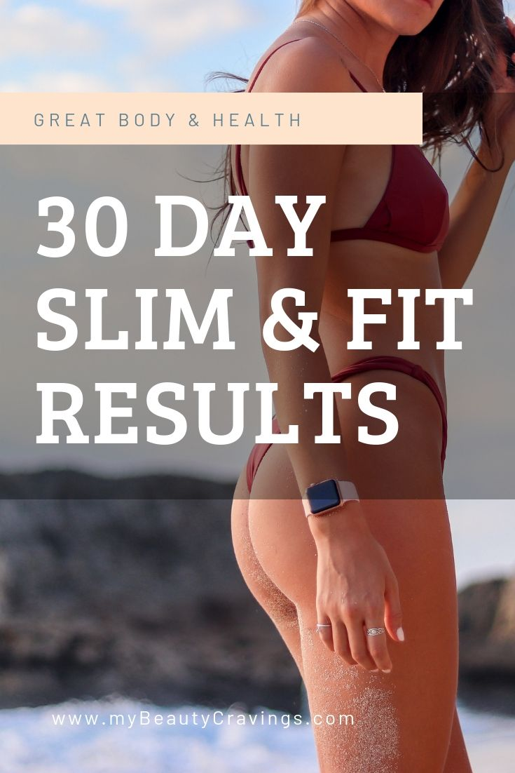 30 Day Slim Fit Challenge Results