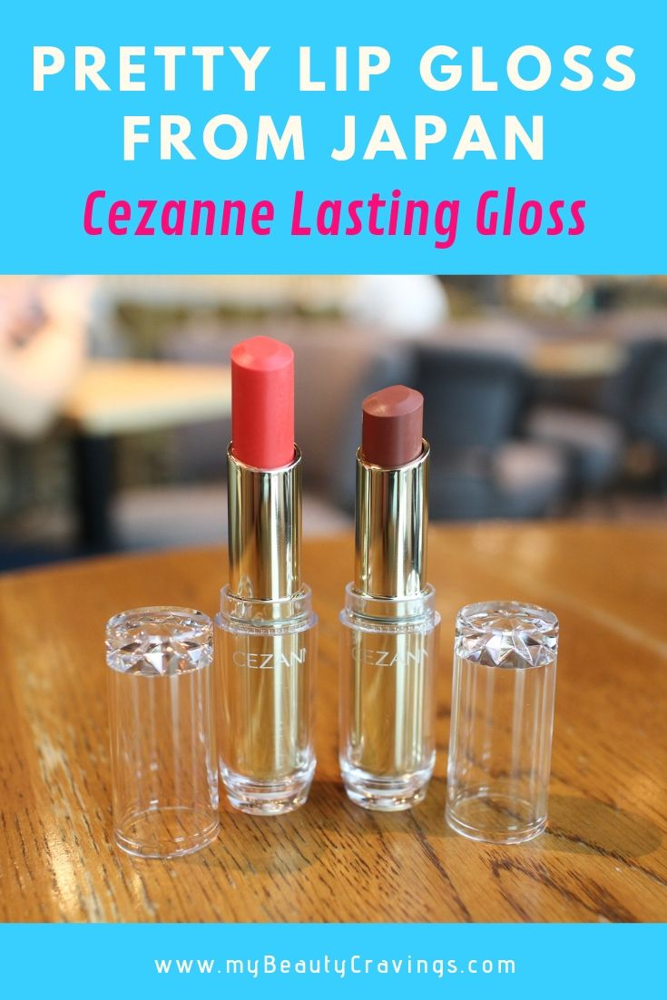 Cezanne Lasting Gloss Lip Review