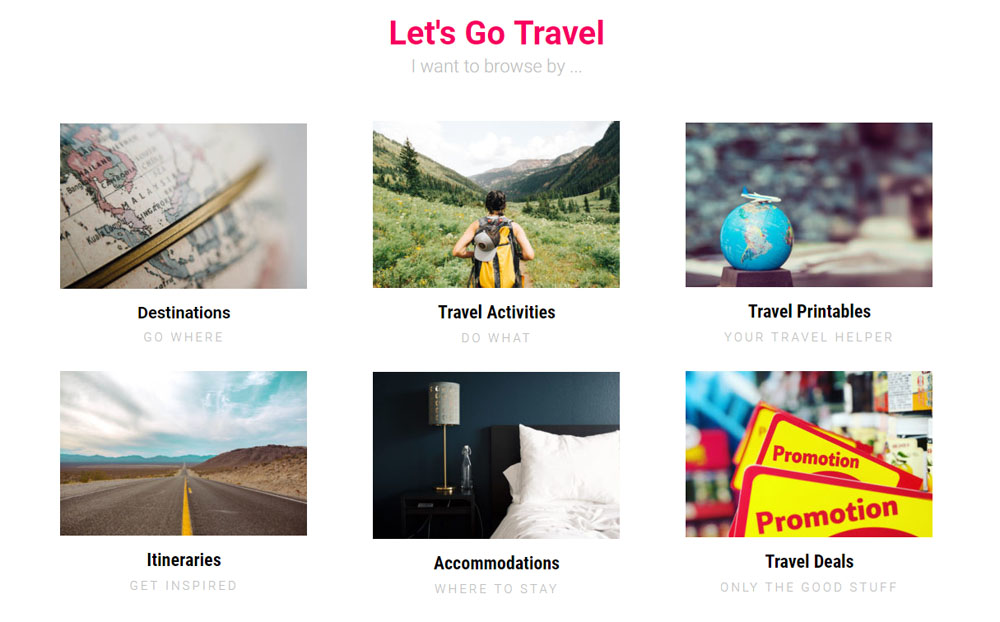Travel Activities by mybeautycravings