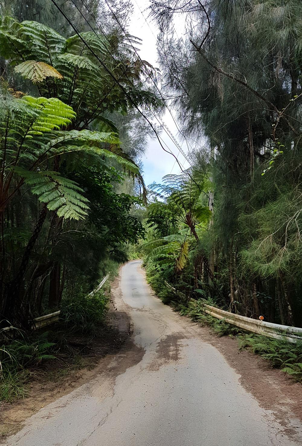 Hira Falls Location