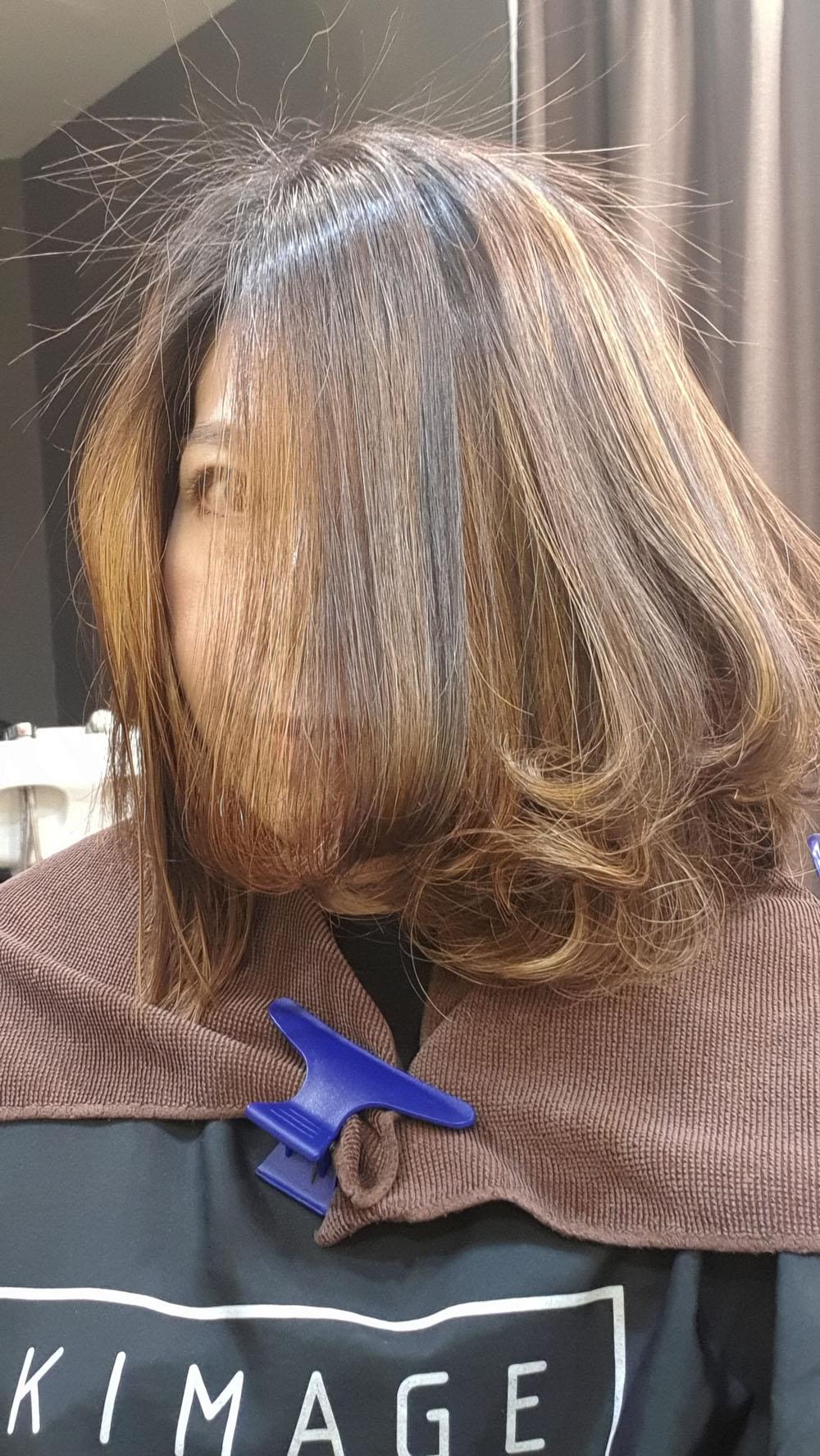 C Curl Rebonding Kimage