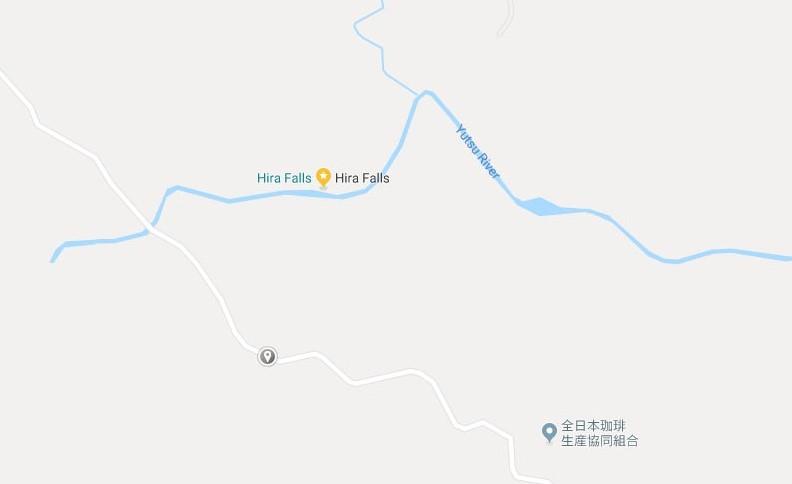 Hira Falls Trail Entrance