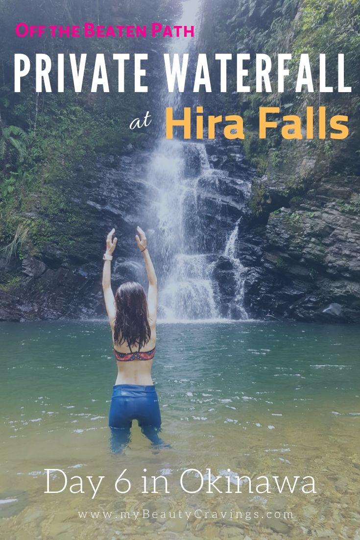 Hira Falls Okinawa Pin