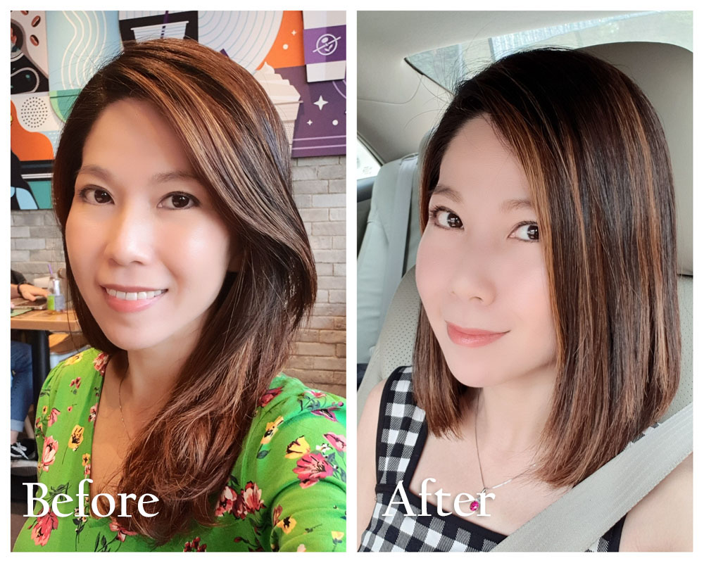 Kimage Haircut & Rebonding