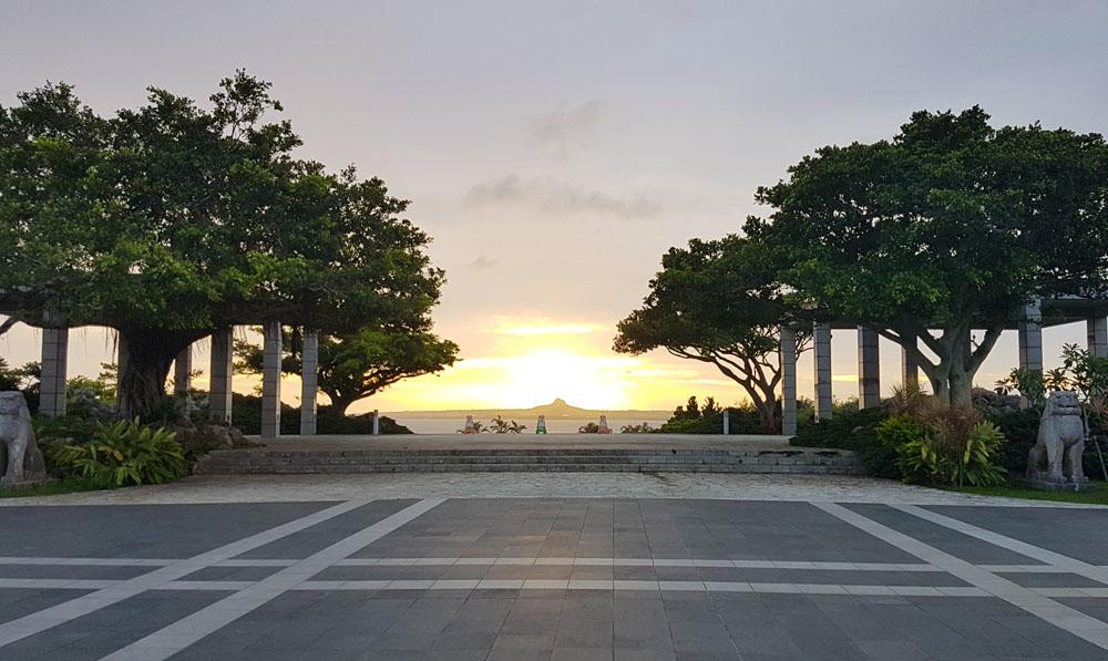 Okinawa Ocean Expo Park Sunset