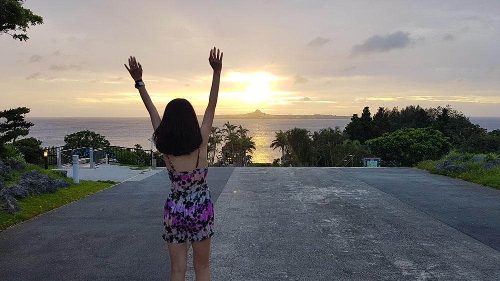 Okinawa Romantic Sunset