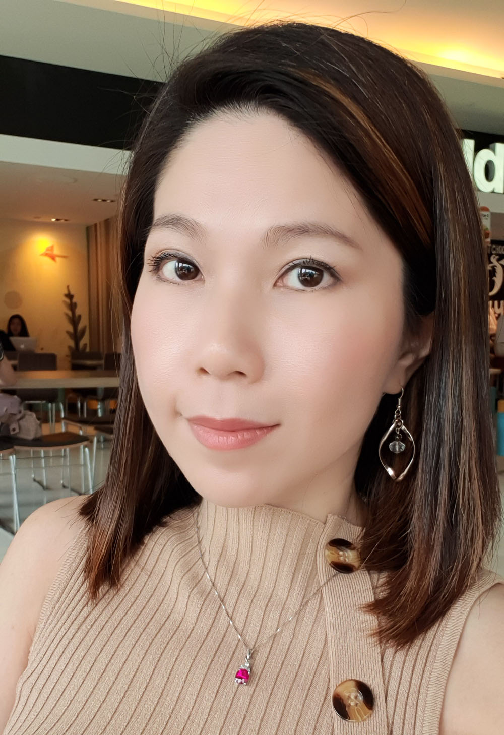 Before Ultherapy treatment in Singapore