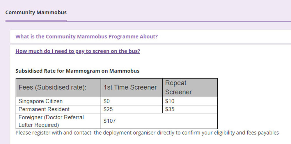 Mammobus Price (Breast Screening Singapore)_1000