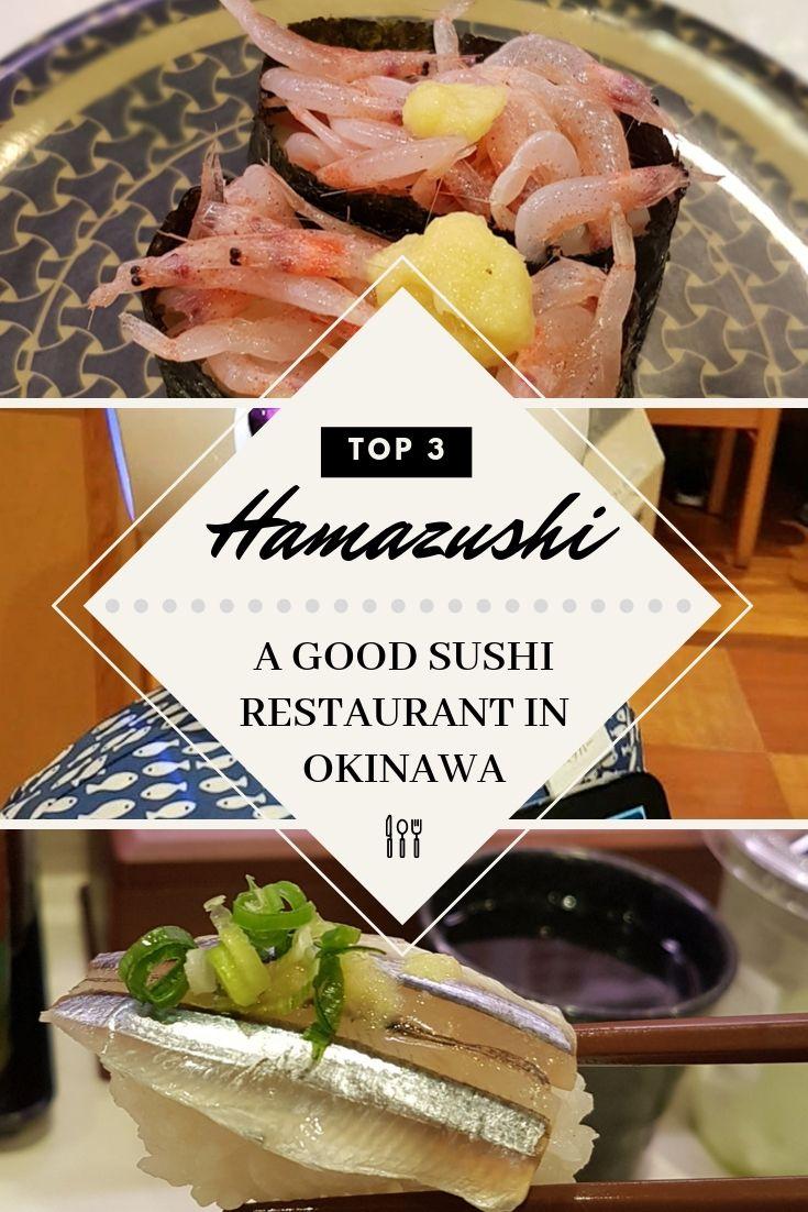 Okinawa Restaurant Hamazushi Sushi