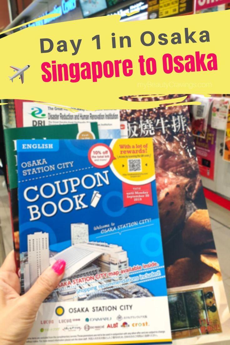 Day 1 - Singapore to Osaka