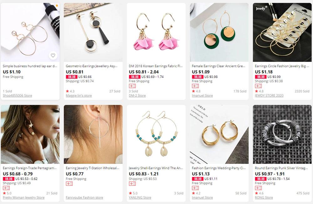 Ear Rings from Aliexpress