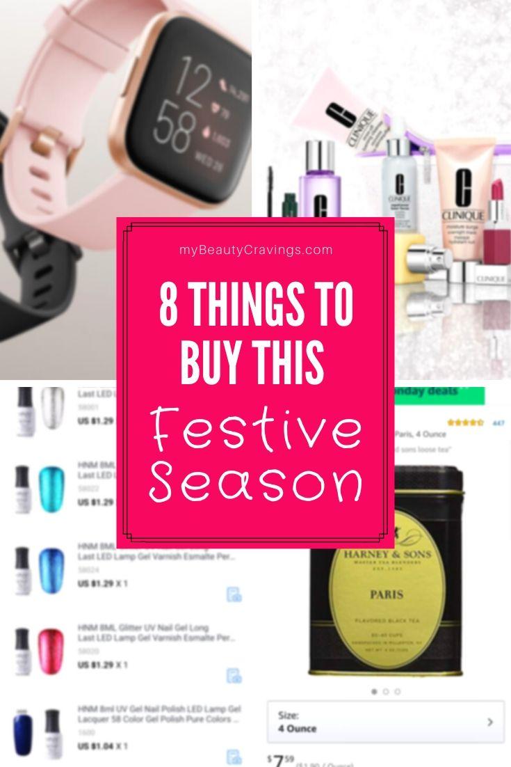 Things to buy Festive Season