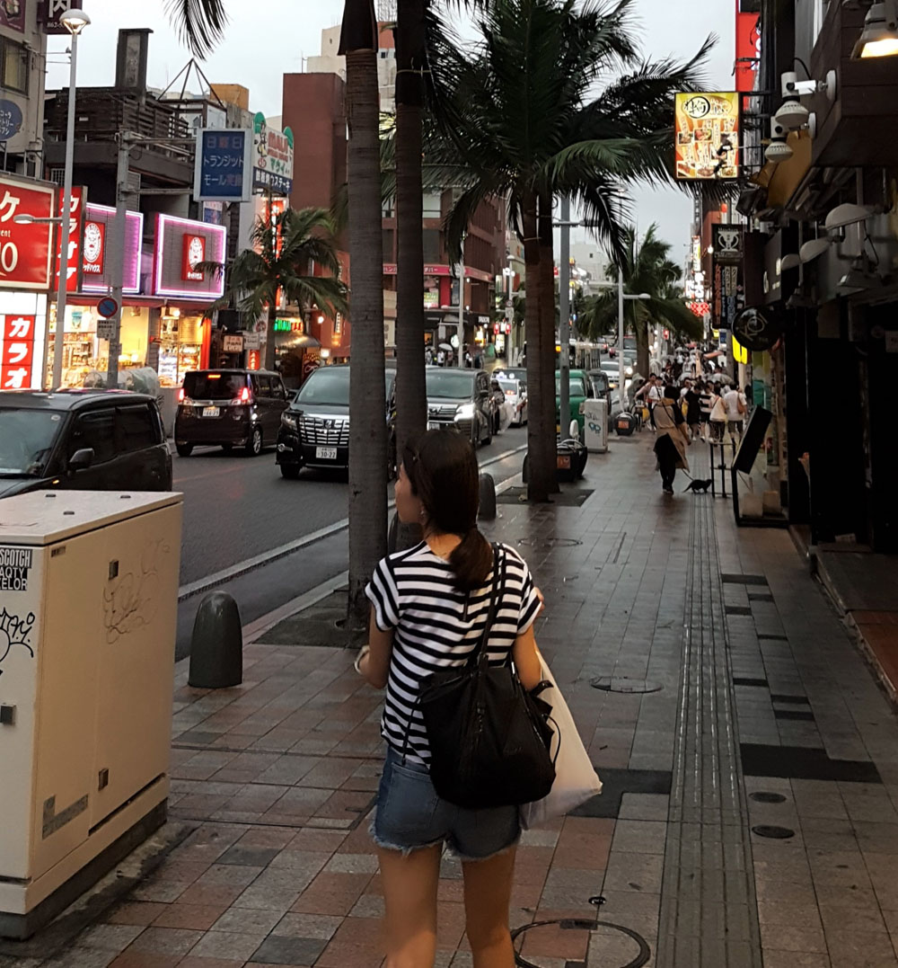 Okinawa typhoon