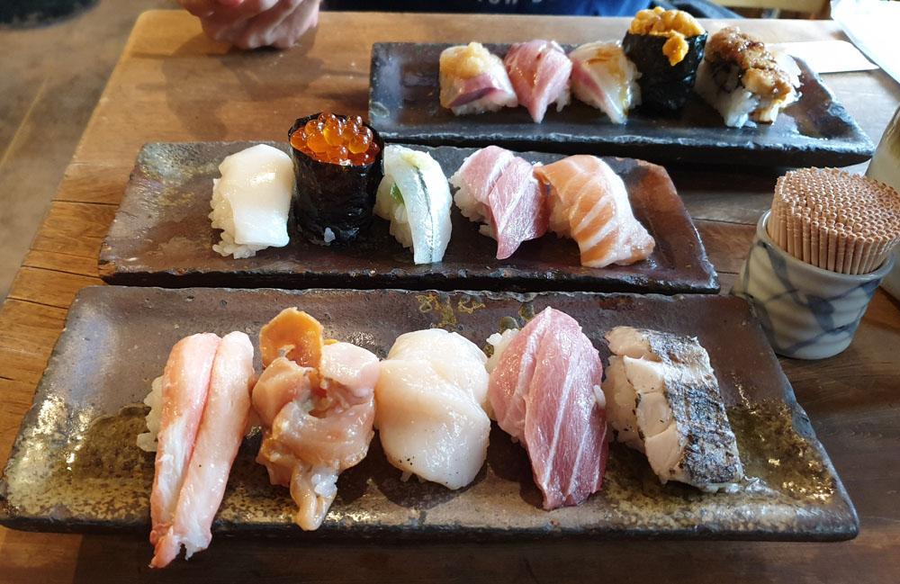 Endo Sushi Price Osaka