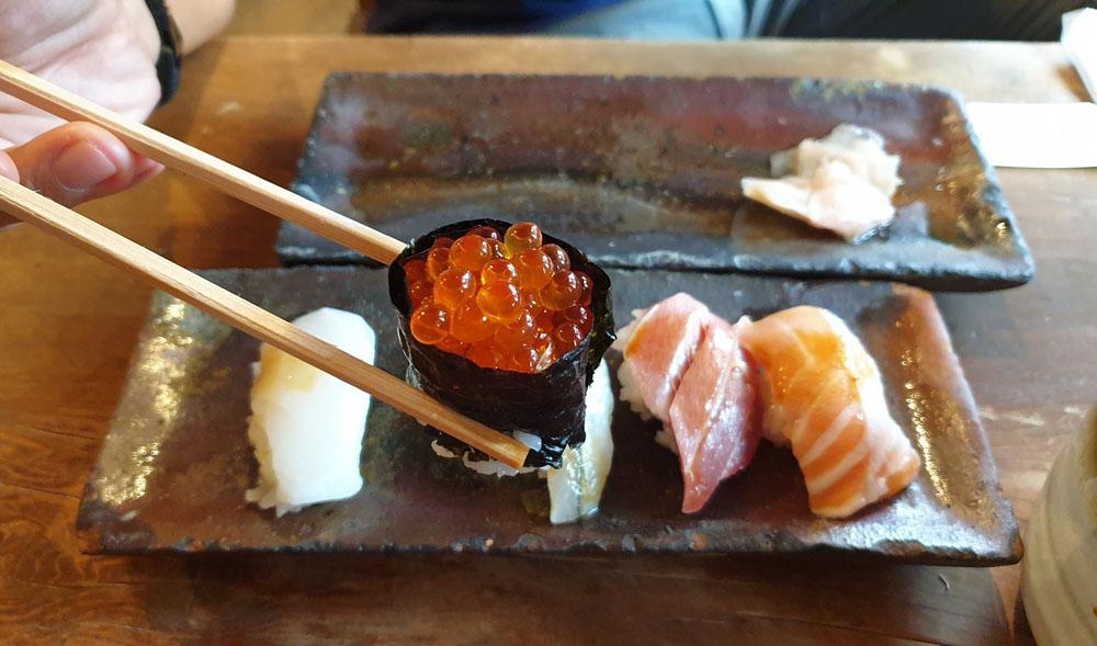 Endo Sushi Menu Osaka
