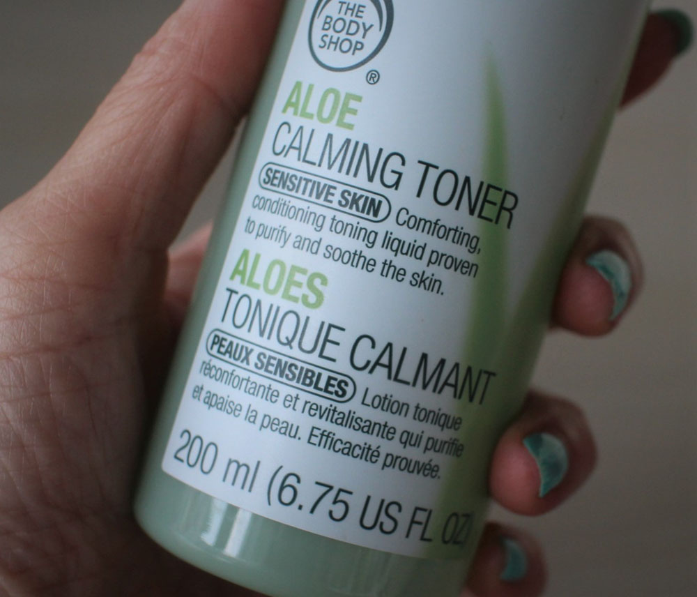Body Shop Aloe Calming Toner