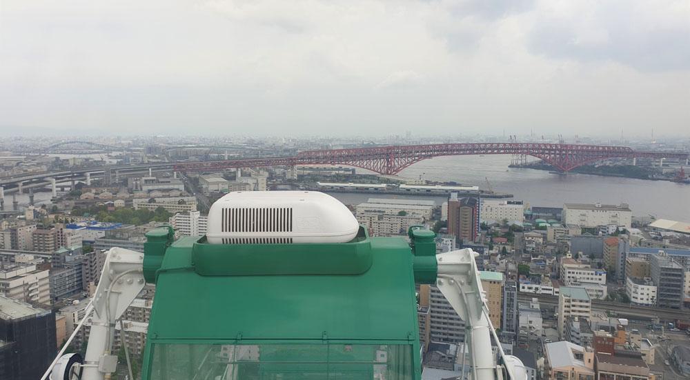 Tempozan Ferris Wheel View