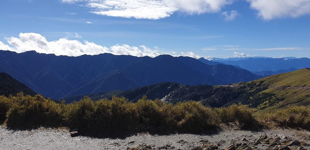 Hehuanshan Wuling View