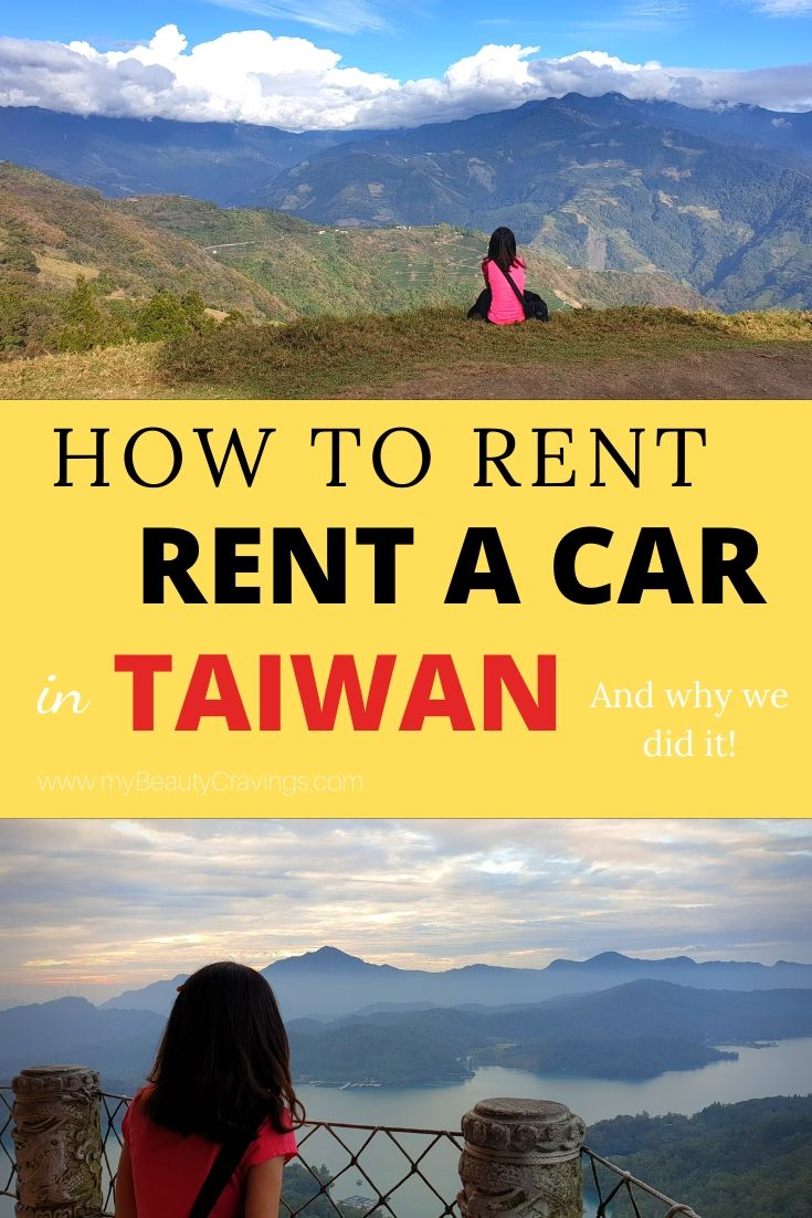 How to rent car Taiwan