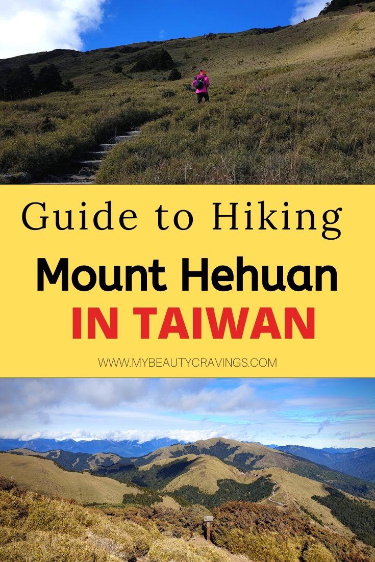 Hiking Hehuanshan Taiwan