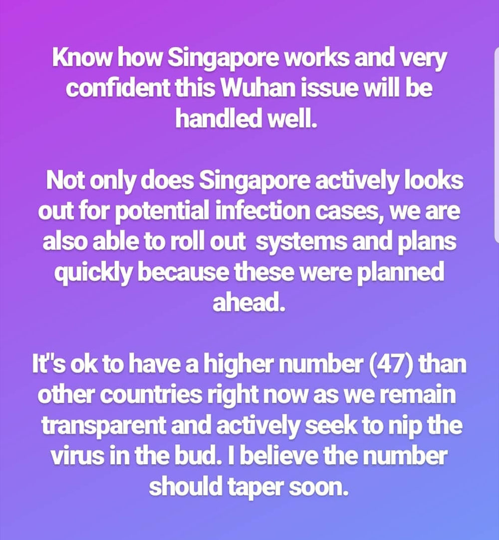 Coronavirus Singapore