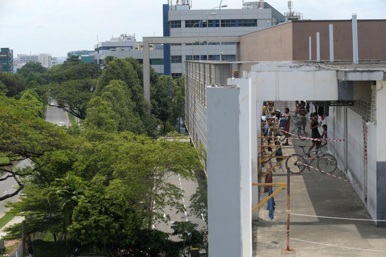 Singapore dormitory covid-19