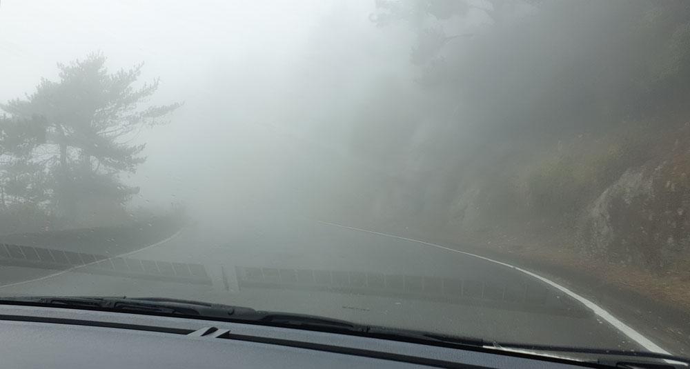 Drive up hehuanshan