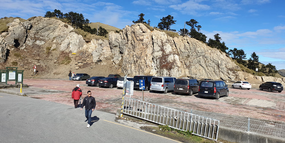 Hehuanshan Car Park
