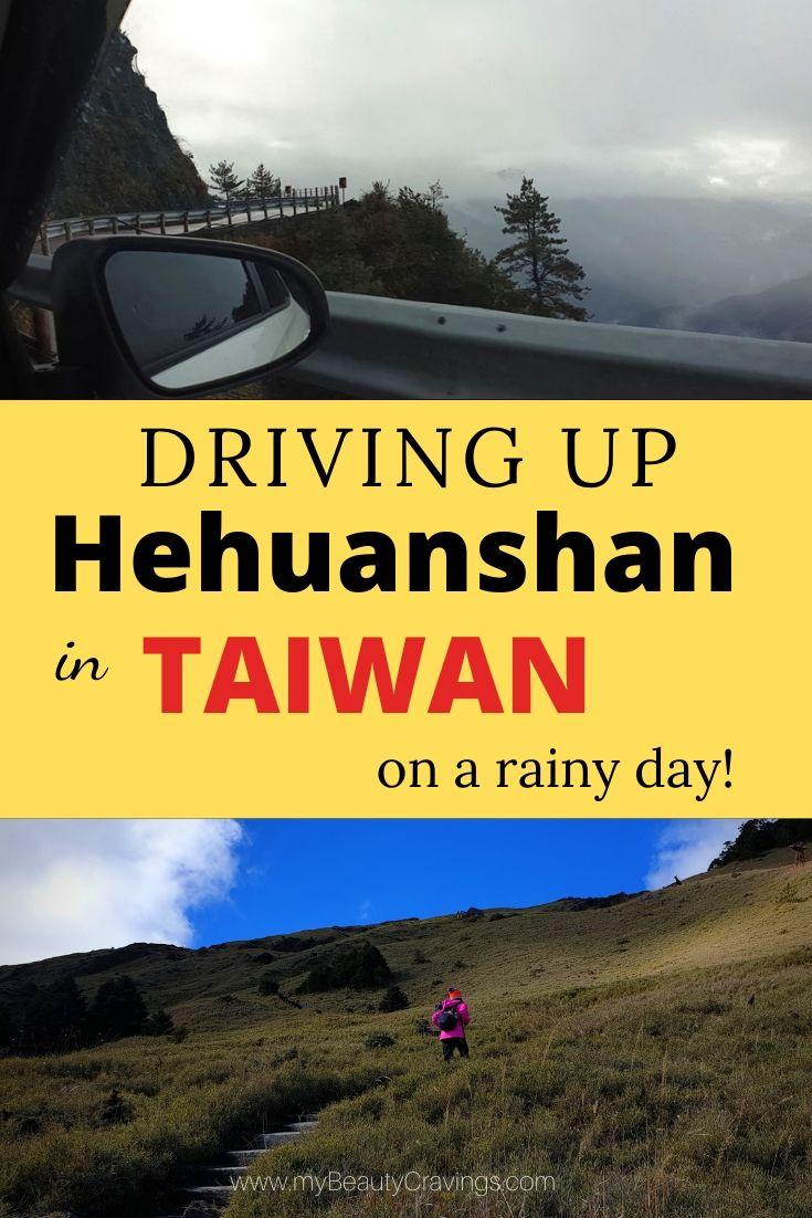 Driving up Hehuanshan