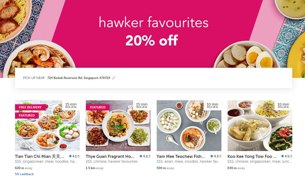 Foodpanda Hawker Discount