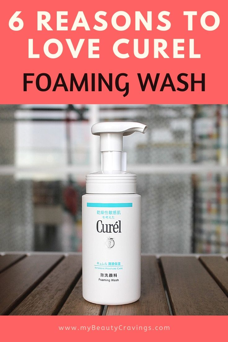 Curel Foaming Wash