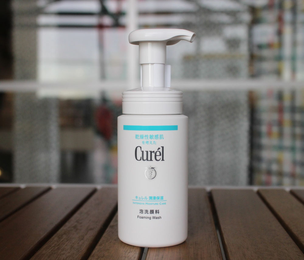 Curel Foaming Facial Wash