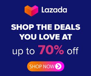 Lazada Bonus Offer Landing Page