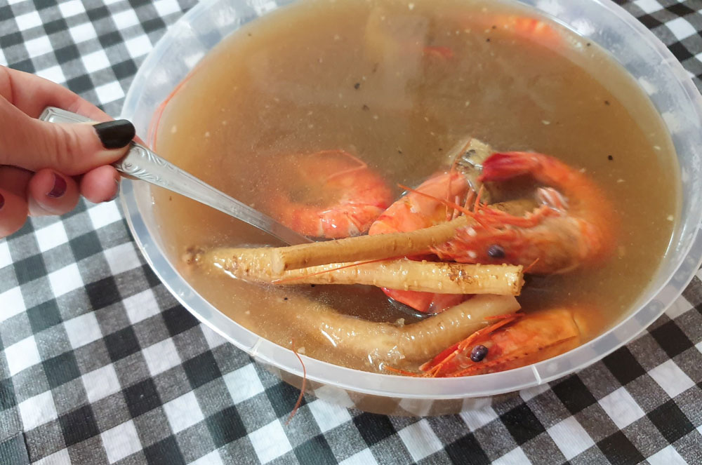 8 Crabs Drunk Herbal Prawns Review