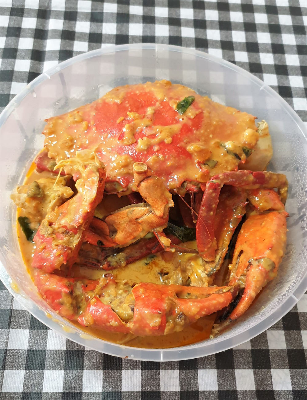 8 Crabs Salted Egg Crab Extra Large