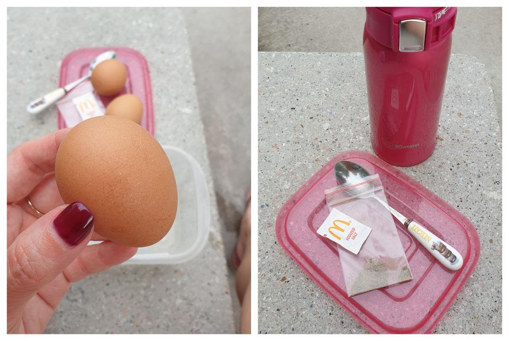 Sembawang cook onsen eggs