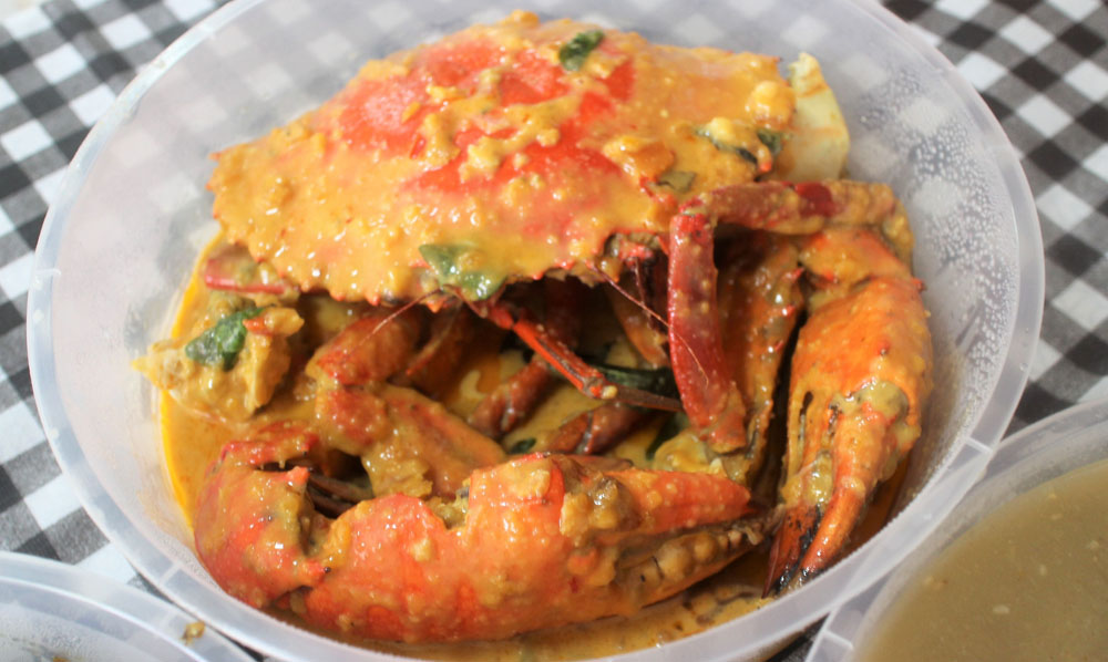 8 Crabs Salted Egg Crab review