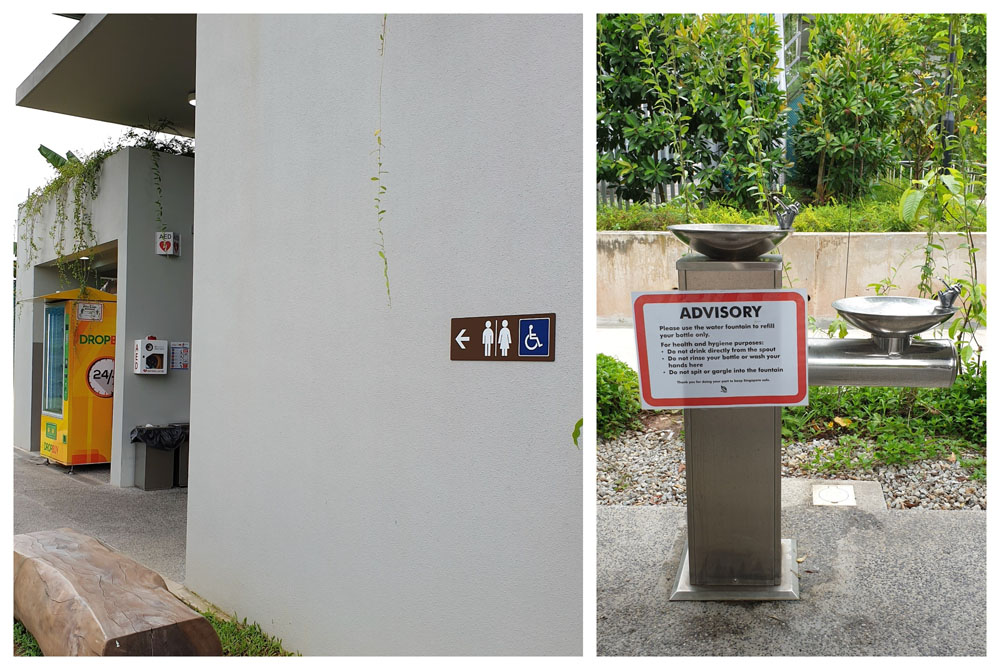 Sembawang Hot Spring Facilities