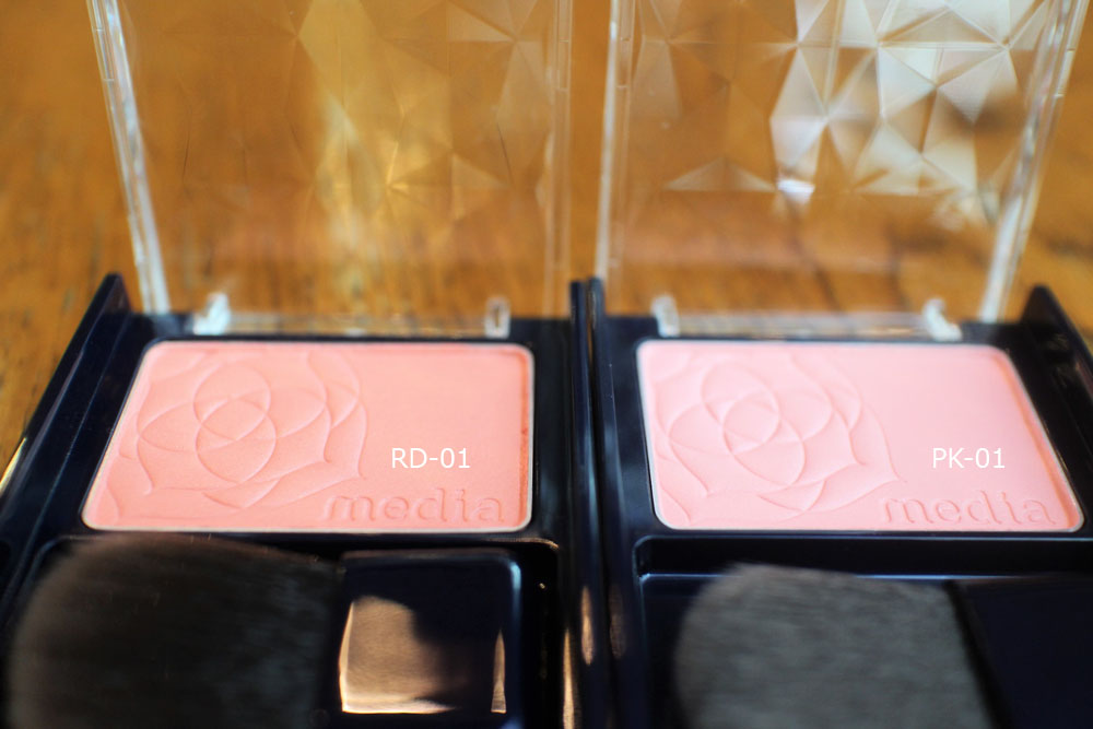 Media Blusher PK-01 and RD-01