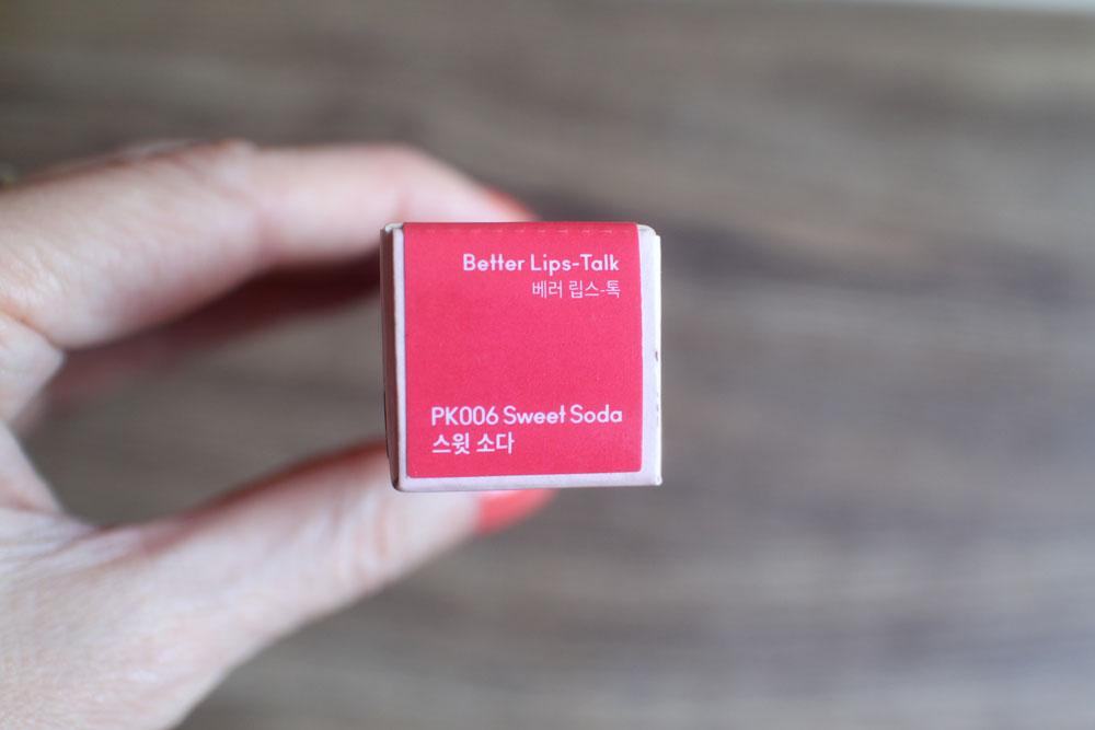 Better Lips-Talk Sweet Soda