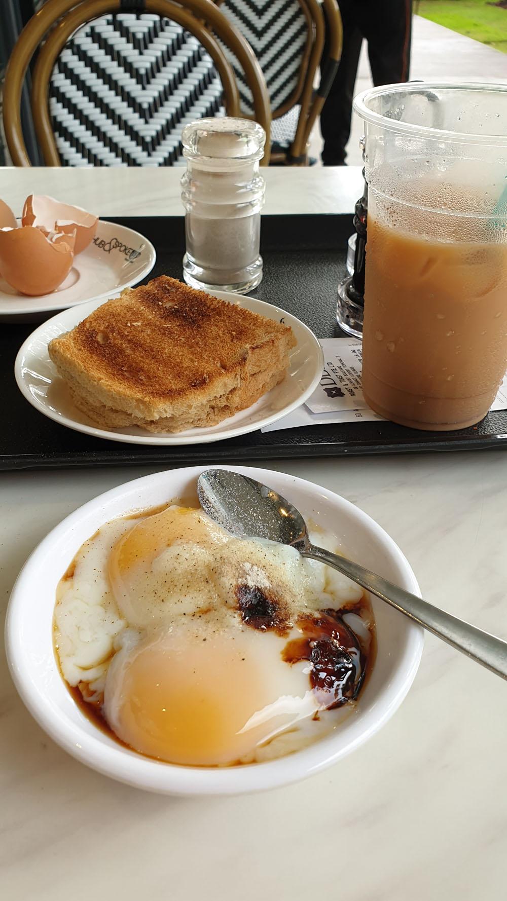 Kaya Butter Toast traditional breakfast Singapore