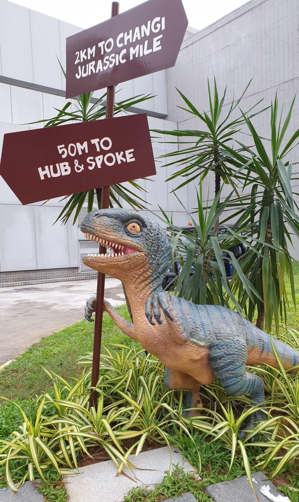 Hub & Spoke to Jurassic Mile