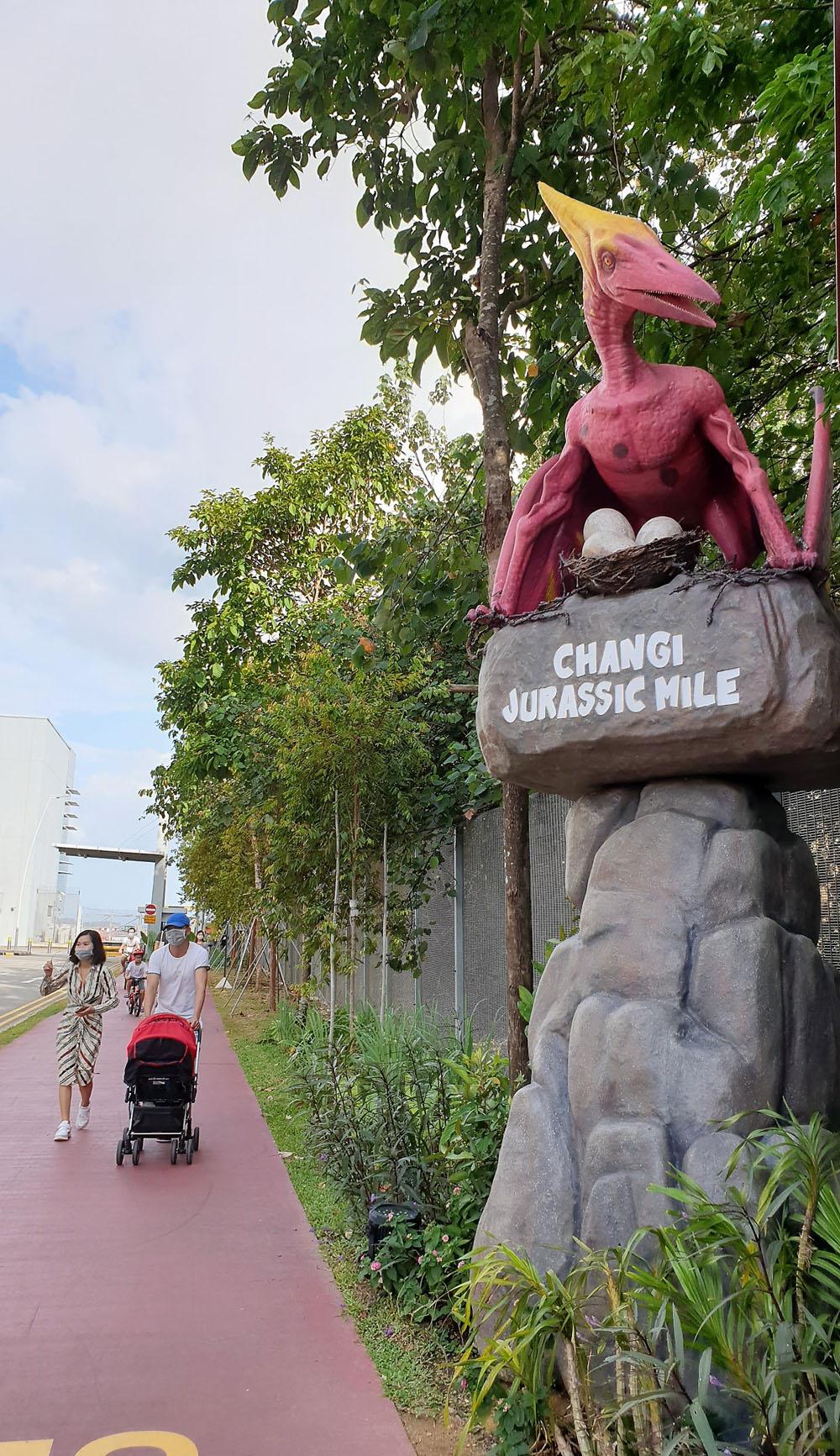 Changi Jurassic Mile Entrance